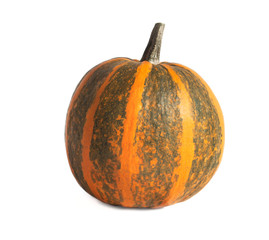 Striped pumpkin