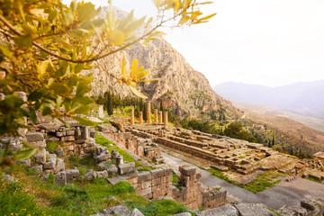 The view on Apollo temple