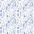 Seamless watercolor pattern - 67772912
