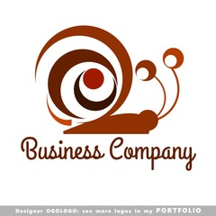 logo, insects, snail, illustrations, vector, art, cute, animal
