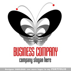 logo, illustrations, insects, vector, butterfly, animals, sign