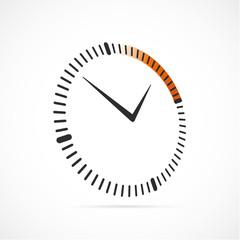 chronomètre-horloge