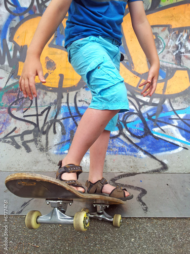 canvas print picture Skater