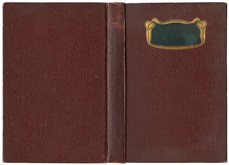 Old open book 1904