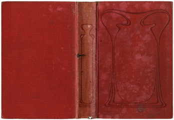 Old open book 1909
