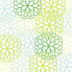 Graphic chrysanthemum