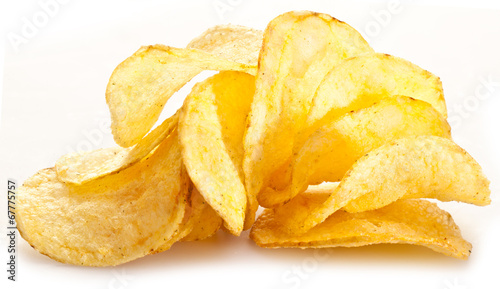 Papiers peints Biscuit Potato chips.