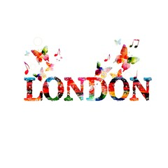 Colorful London design