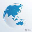 Infographics Vector Backgrounf #Global, World Map, Earth