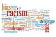 Racism - word cloud illustration