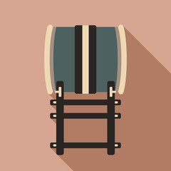 Japanese traditional drum