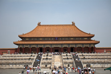 The Hall of Supreme Harmony in the Forbidden City, Beijing, Chin