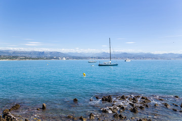 Antibes, French Riviera. Seascape - 3