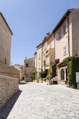 Antibes, France. View of old town