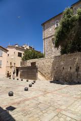 Antibes, France. Street of old town