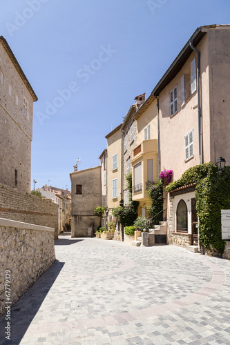 canvas print picture Antibes, France. View of old town