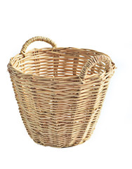Natural hand made basket