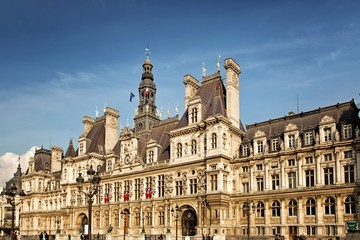 City Hall in Paris