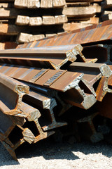 railway rails scrap recycling