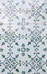Typical old Lisbon tiles