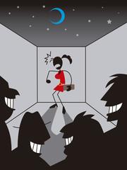 狙われる女性