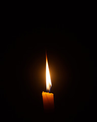 Candle light  for spirituality ceremony