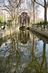 Medici Fountain at Luxemburg gardens, Paris