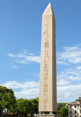 Egyptian obelisk in Istanbul, Turkey