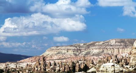 Mountain landscape, Goreme, Cappadocia, Turkey