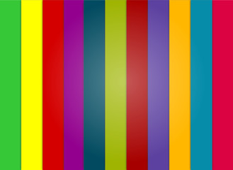 bandes de couleurs