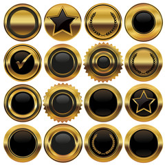 Gold Button-Set