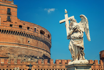 Rome - Angel and Saint Angel Castle