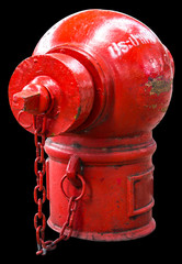 Isolate Fire Protection Pipe is the old red dirt and rust