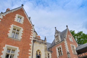 Leonardo house in Amboise
