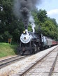 Steam Engine 90 with smoke