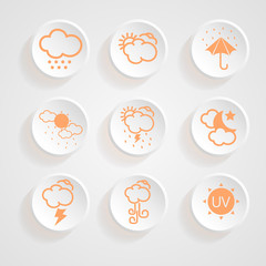 icons weather design