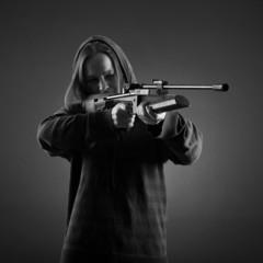 Sniper woman