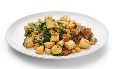Stir Fried Rice Noodle with tofu