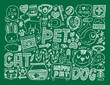 doodle pet background