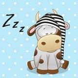 Fototapety Sleeping Cow