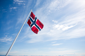 Flag of Norway.