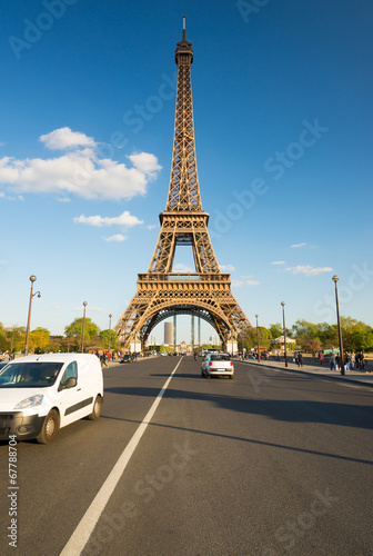 canvas print picture tour eiffel Paris