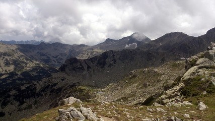 Natural landscape from Pirin mountain in Bulgaria