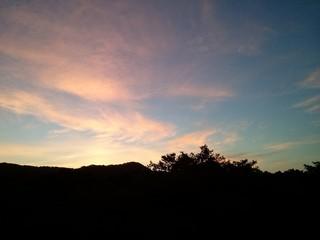 Sunrise in Roatan