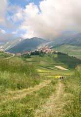 Castelluccio di Norcia - Monti Sibillini