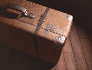 Abandoned Suitcase