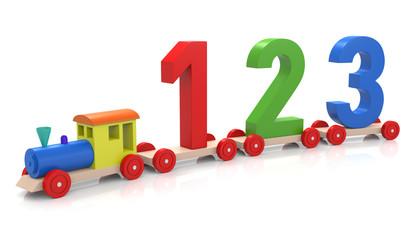 Toy Train & 123
