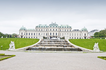Detail from Upper Belvedere Palace in Vienna
