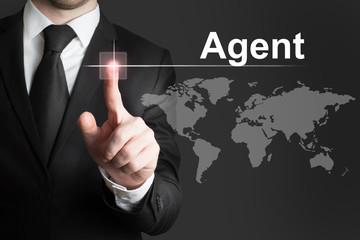 agent spionage weltkarte touchscreen