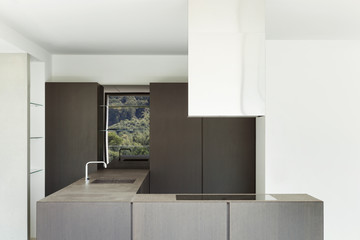 New architecture, modern kitchen